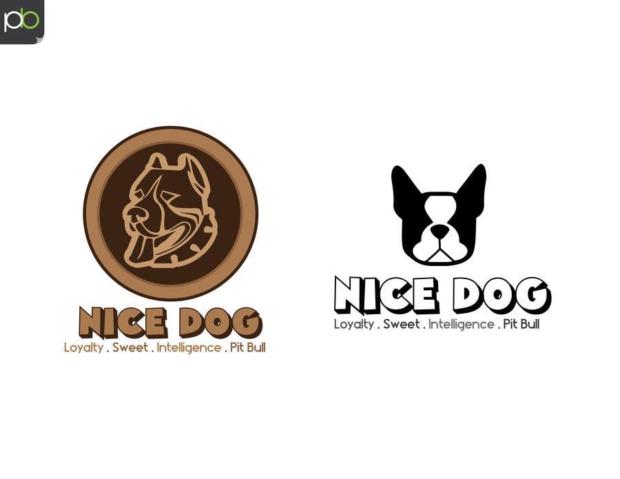 Kilpailutyö #13 kilpailussa Logo image for Pit Bull dog brand
