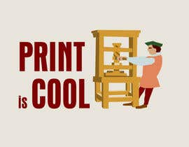 "nº 130 pour Logo for a blog ""print is cool"" par phanex"