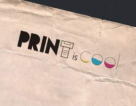 "#17 cho Logo for a blog ""print is cool"" bởi abdelkaderhitmi"