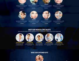 #23 untuk Design a Website Mockup for aesthetic surgery oleh nikil02an