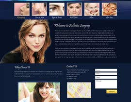 webidea12 tarafından Design a Website Mockup for aesthetic surgery için no 7