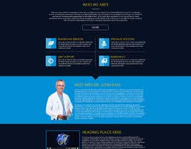 #30 untuk Design a Website Mockup for aesthetic surgery oleh suranjan89