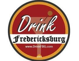 #128 untuk Design a Logo for Drink Fredericksburg, an entertainment website oleh jackmillen92