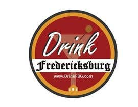 #144 untuk Design a Logo for Drink Fredericksburg, an entertainment website oleh jackmillen92