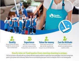 #31 for Design a flyer for a house cleaning company af cristinaDPI