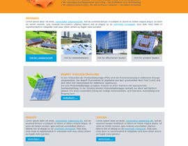 #14 para webdesign for photovoltaic company por FacelessFox