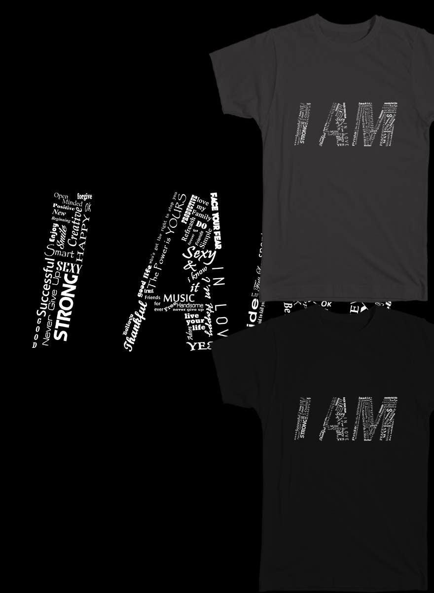 Konkurrenceindlæg #                                        19                                      for                                         Design a T-Shirt for Motivation Business