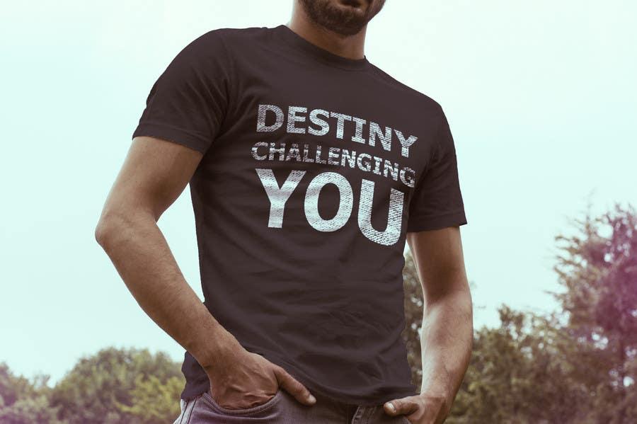 Konkurrenceindlæg #                                        11                                      for                                         Design a T-Shirt for Motivation Business