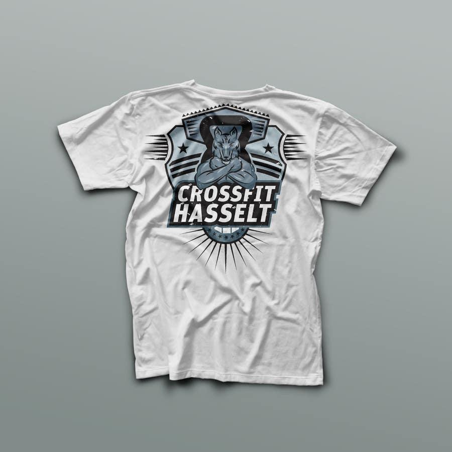 Kilpailutyö #86 kilpailussa Ontwerp een T-shirt for Crossfit Hasselt