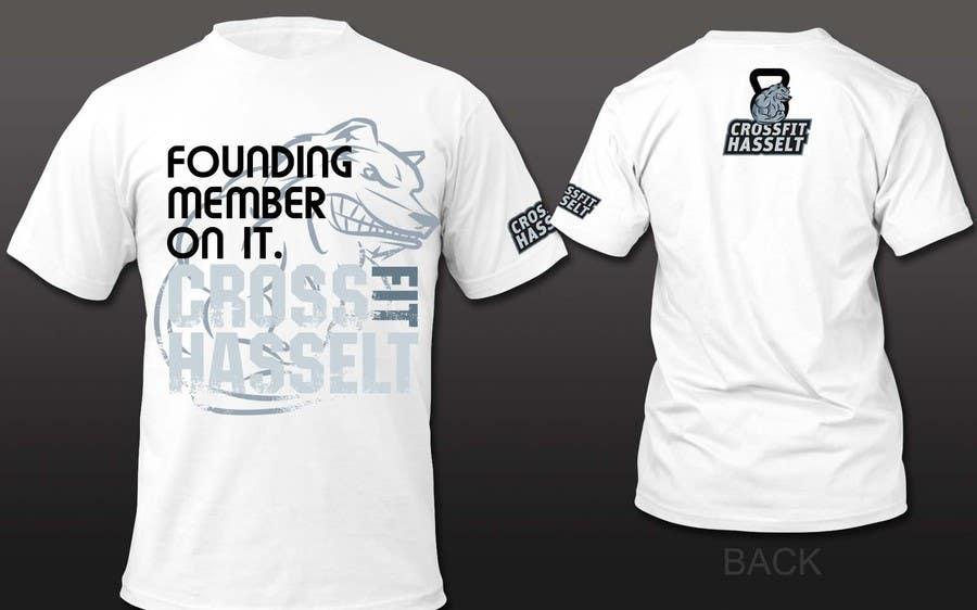 Bài tham dự cuộc thi #27 cho Ontwerp een T-shirt for Crossfit Hasselt founding members