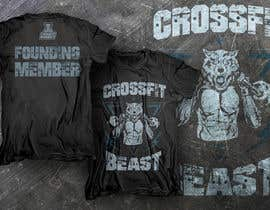 #11 untuk Ontwerp een T-shirt for Crossfit Hasselt founding members oleh dsgrapiko
