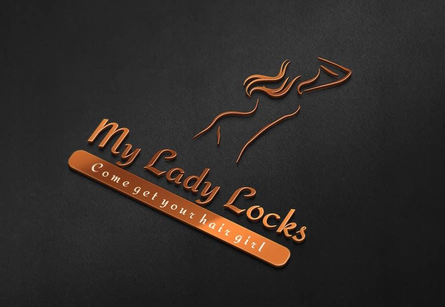 Contest Entry #                                        9                                      for                                         MyLadyLocks Logo