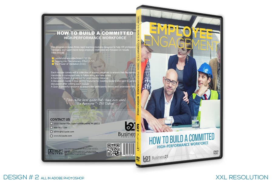 Contest Entry #                                        35                                      for                                         New Package Design for Training DVDs