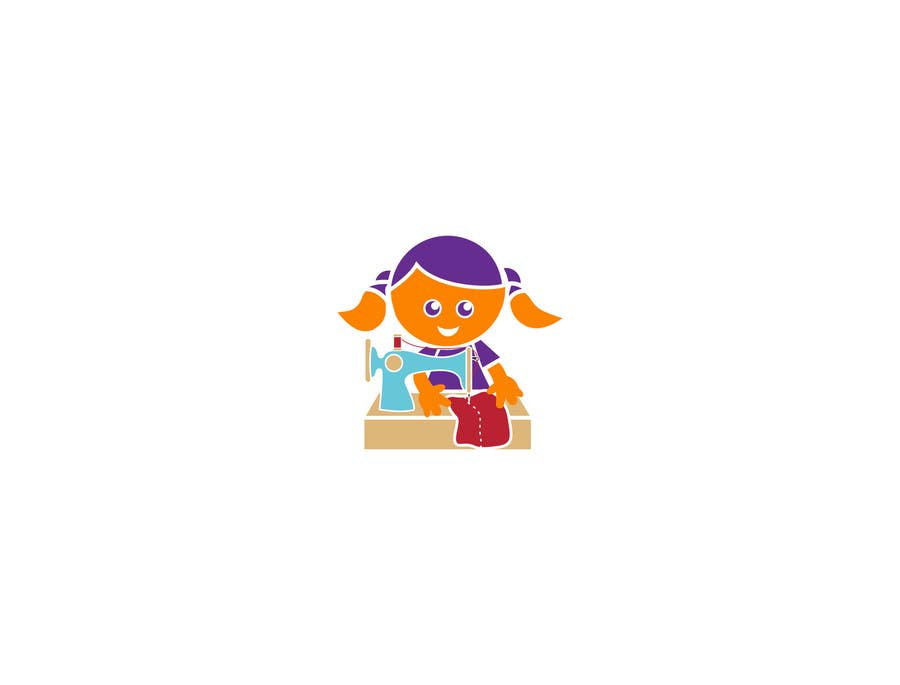 Konkurrenceindlæg #                                        1                                      for                                         Updated Cartoon Character and Illustrations for Lucy's Purple Crayon