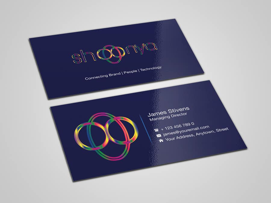Contest Entry #                                        9                                      for                                         Design some Business Cards for a creative/technology startup
