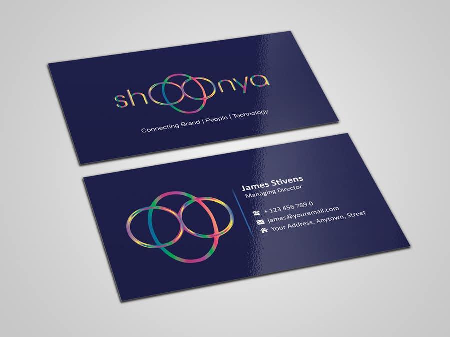 Konkurrenceindlæg #                                        10                                      for                                         Design some Business Cards for a creative/technology startup