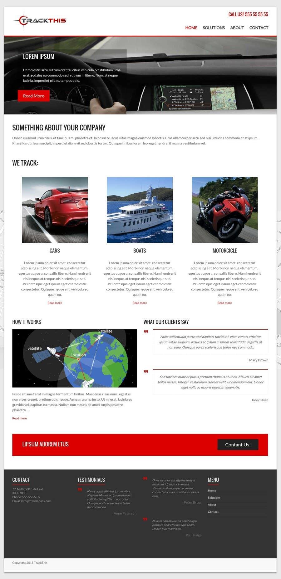 Kilpailutyö #7 kilpailussa Build a Website for TrackTHIS -- 2