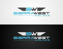 #90 para Design a Logo for Sierra West Airlines por mille84
