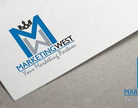 #9 for Design a Logo for MarketingWest by ZzDesignPRO