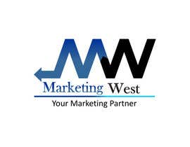 #28 for Design a Logo for MarketingWest by vasantjadhav