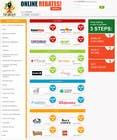 Proposition n° 2 du concours Graphic Design pour Design a Website Mockup for Main Page of Deals Site