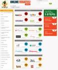 Proposition n° 17 du concours Graphic Design pour Design a Website Mockup for Main Page of Deals Site