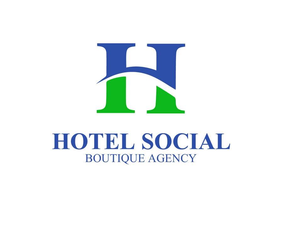 Inscrição nº 26 do Concurso para Design a Logo for Hotel Social Media Agency