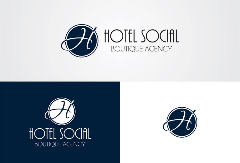Inscrição nº 5 do Concurso para Design a Logo for Hotel Social Media Agency