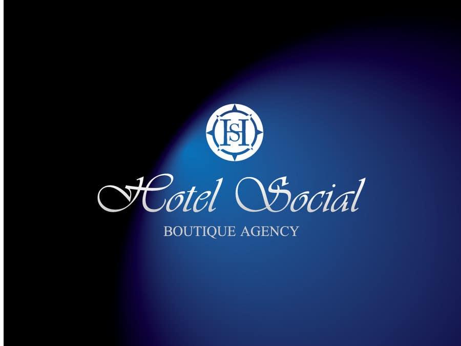 Inscrição nº                                         30                                      do Concurso para                                         Design a Logo for Hotel Social Media Agency