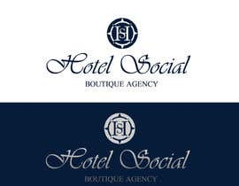#37 para Design a Logo for Hotel Social Media Agency por zaldslim