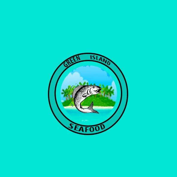 Konkurrenceindlæg #                                        52                                      for                                         Design a Logo for Green Island Seafoods
