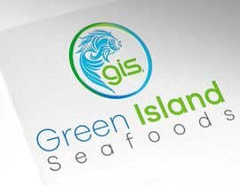 #3 untuk Design a Logo for Green Island Seafoods oleh infosouhayl