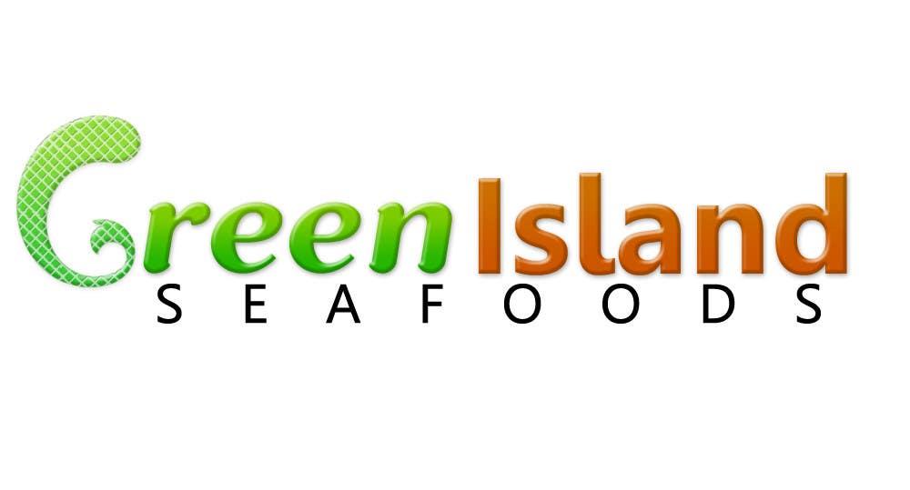 Konkurrenceindlæg #                                        35                                      for                                         Design a Logo for Green Island Seafoods