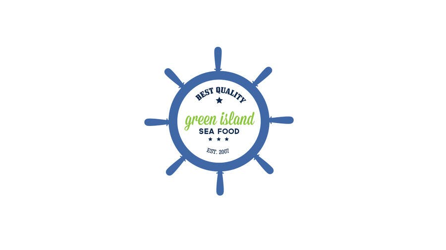 Konkurrenceindlæg #                                        23                                      for                                         Design a Logo for Green Island Seafoods