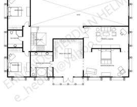 khucinghitam tarafından Design a floor plan for a house i am planning to build. için no 20