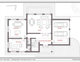 #19 untuk Design a floor plan for a house i am planning to build. oleh Marietka