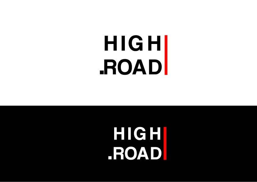 """Konkurrenceindlæg #7 for Logo for a luxe jewelry brand """"High Road"""""""