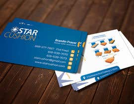 #5 untuk Design some Business Cards for Star Cushion oleh shohaghhossen