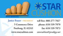 Graphic Design Contest Entry #7 for Design some Business Cards for Star Cushion
