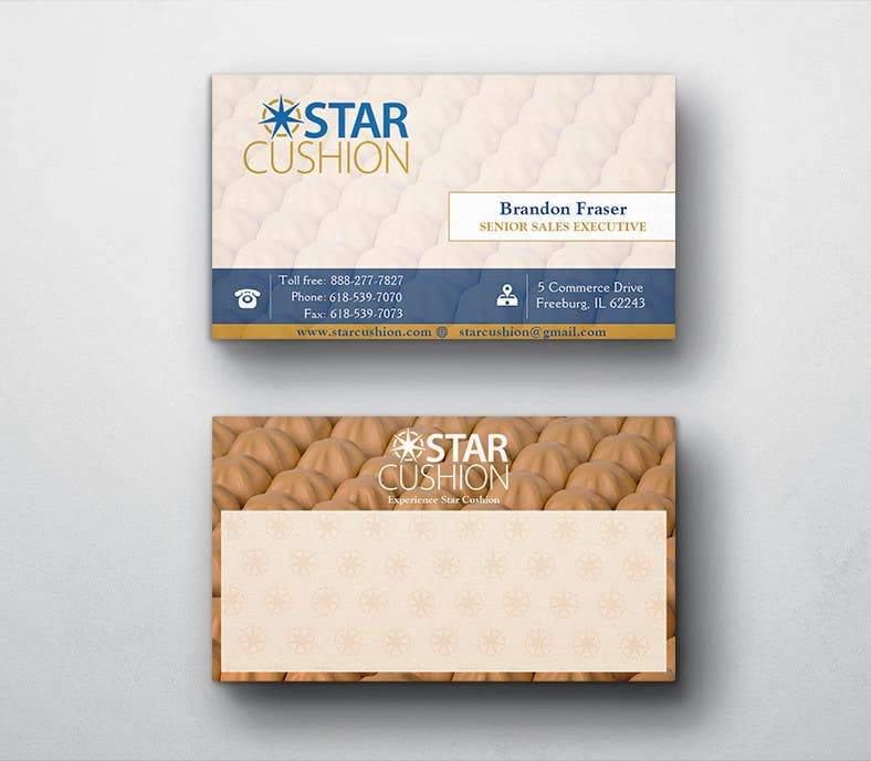 Contest Entry #                                        85                                      for                                         Design some Business Cards for Star Cushion