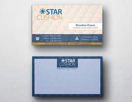 #86 untuk Design some Business Cards for Star Cushion oleh peerage