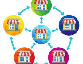 vminh tarafından Design a graphic for Networked Stores için no 21