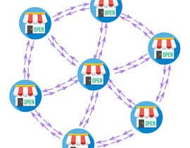 #9 for Design a graphic for Networked Stores by yangkecoy
