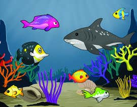 #28 untuk under sea background oleh simon055