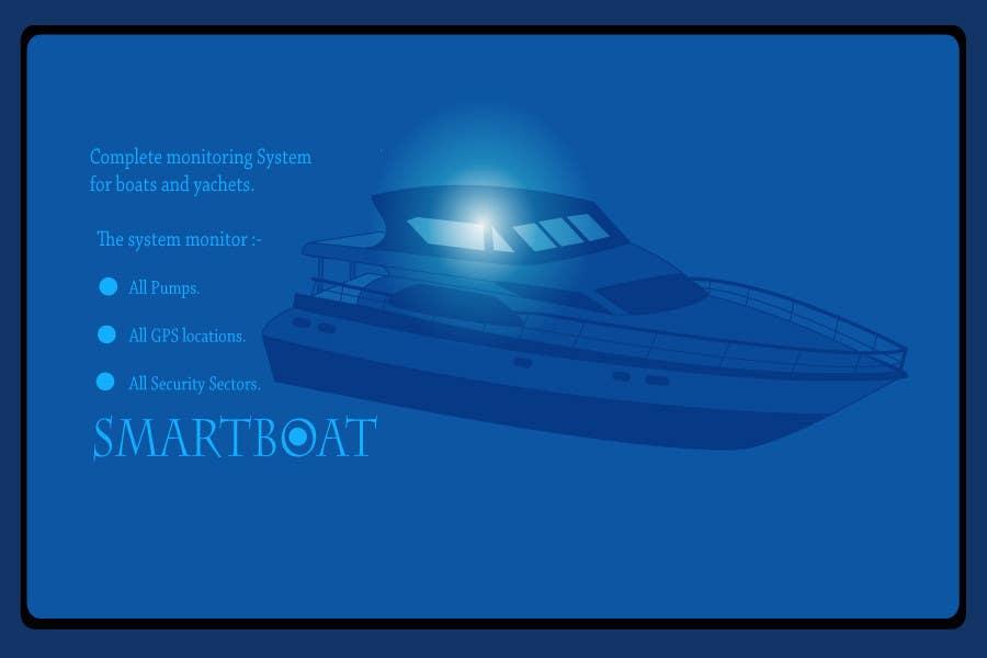 Proposition n°                                        25                                      du concours                                         Illustration Design for SmartBoat