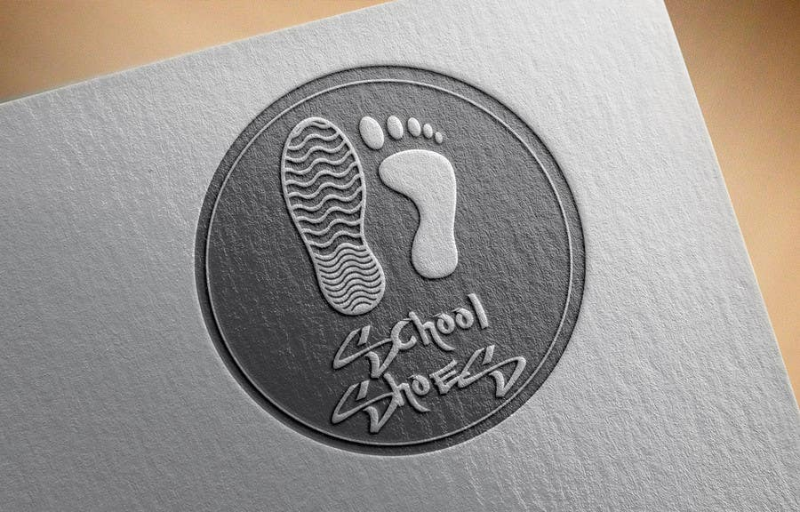 Contest Entry #                                        1                                      for                                         Designers Challange -Design a logo for school Shoes