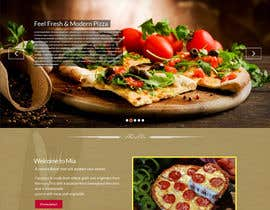 #4 para Design a Website Mockup for Maka Mia Pizza Franchise por prodesign842