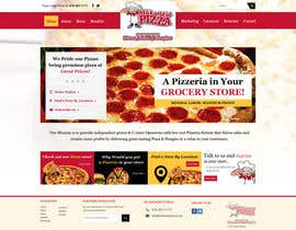 #1 para Design a Website Mockup for Maka Mia Pizza Franchise por suryabeniwal