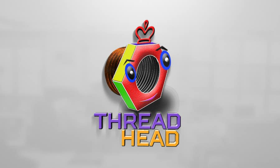 Proposition n°                                        80                                      du concours                                         Character design for Thread Head Company mascots