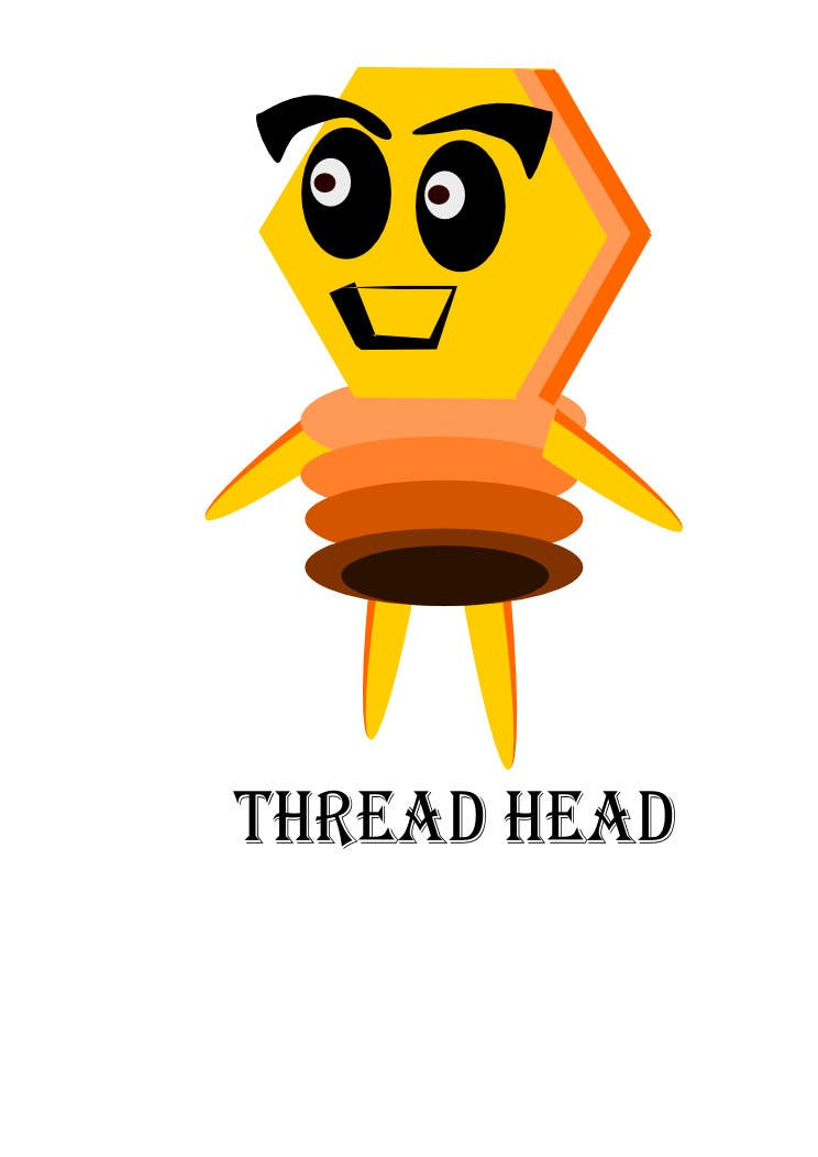 Proposition n°                                        85                                      du concours                                         Character design for Thread Head Company mascots